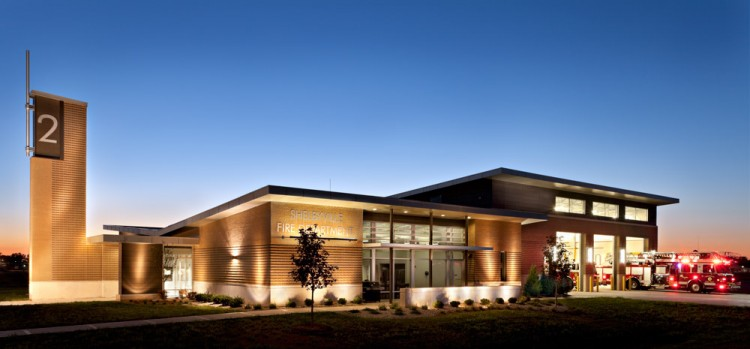Marvelous Axis Architecture   Shelbyville Fire Station 2 ...