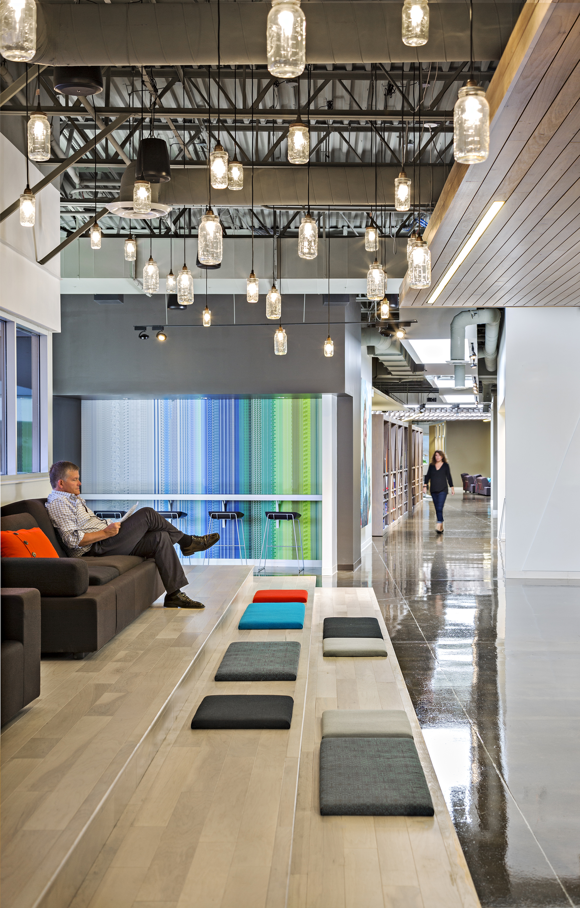 It Then Explores Jardenu0027s Headquarters, And How Their Move To Fishers Was  The Perfect Opportunity To Bring Staff Together With An Open Office Design.