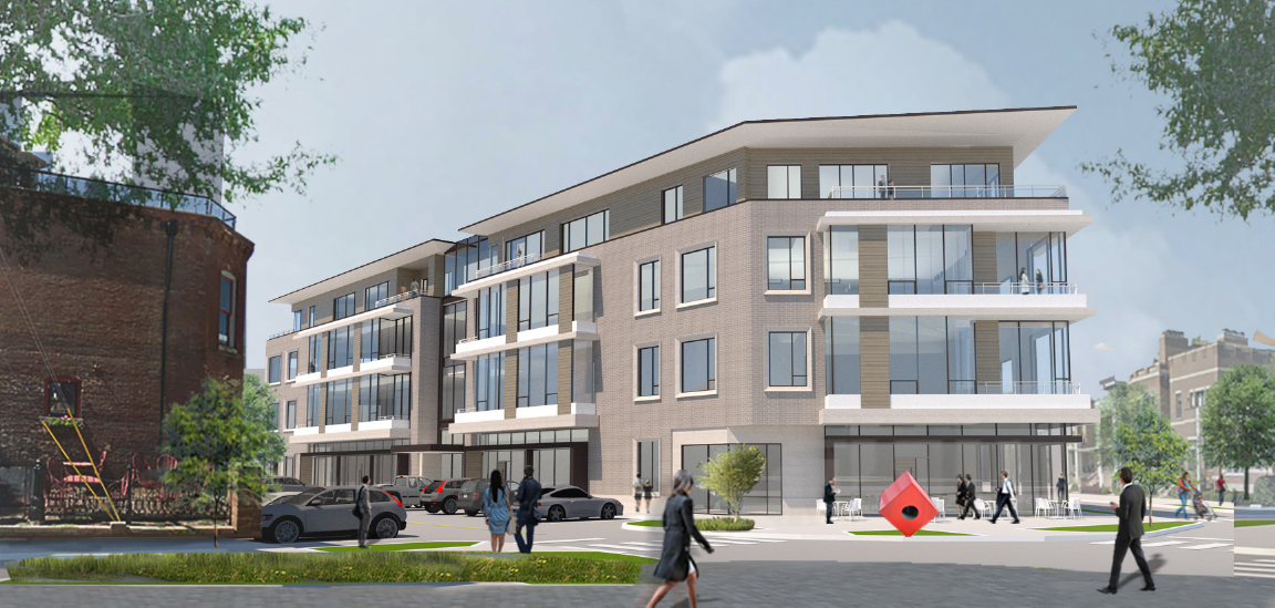 Massachusetts Avenue mixed-use project